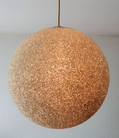 Sugar Ball Pendant Light, 1960's