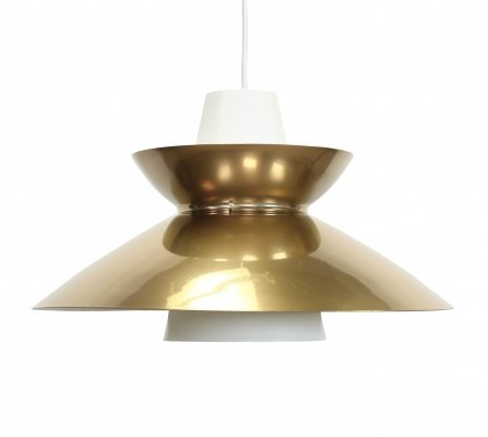 Large Jorn Utzon Navy pendant by Nordisk Solar