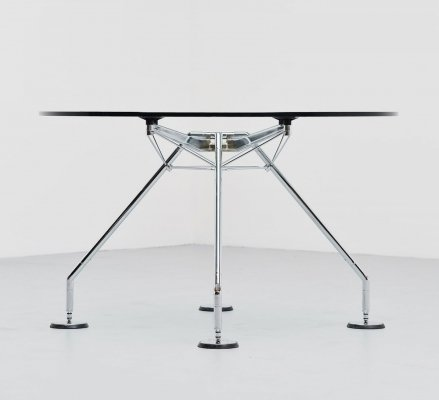 Sir Norman Foster Nomos round table for Tecno, 1987