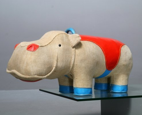 Renate Müller Therapeutic Toy 'Mocky' Rhino, 1980s