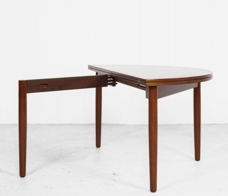 Midcentury Danish console & coffee table in teak by Poul Volther for Frem Røjle