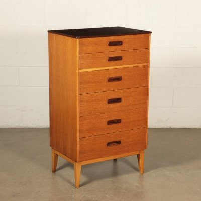 1960s English Chest of Drawers