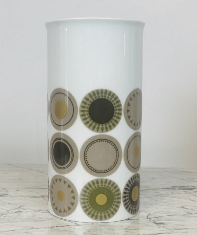 German porcelain vase by Thomas, 1950s
