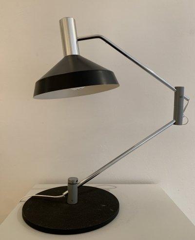 Pentarkus desk lamp by Rico & Rosemarie Baltensweiler for Baltensweiler AG, 1960s