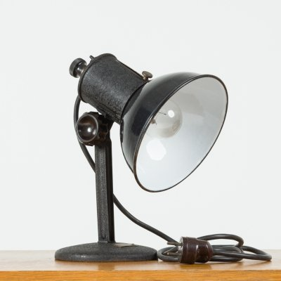 Steel Table Lamp, 1930s