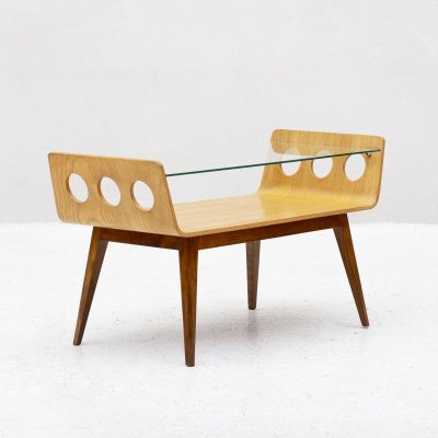 Coffee table by Cor Alons for C. den Boer Gouda, Holland 1950