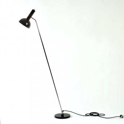Hala Zeist adjustable 'Ball in socket' variation on model 645 floorlamp by H. Busquet