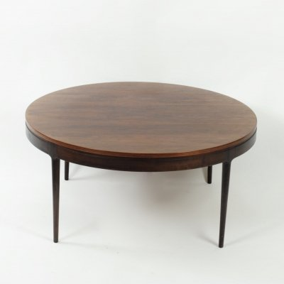 Rosewood coffee table by Ole Wanscher for A.J. Iversen, late 1950's