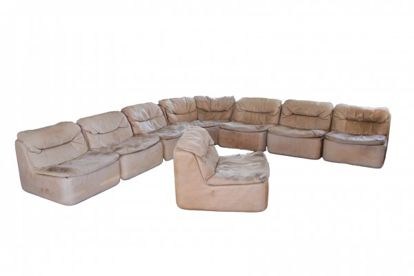 XL sectional sofa model PLUS 144 by Friedrich Hill for Collection Walter Knoll