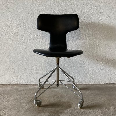 Swivel desk chair 3113 by Arne Jacobsen for Fritz Hansen, 1964