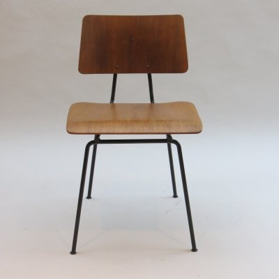 Original 1950s Robin Day 661D Festival Hall Chair by Hille