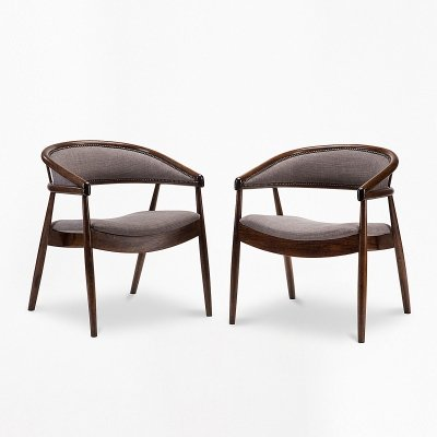 Pair of type B-3300 armchairs, 1950s