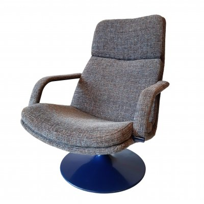 Geoffrey Harcourt F142 Arm Chair for Artifort, 1980s