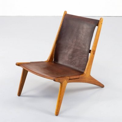 50s Uno & Östen Kristiansson model 204 Hunting Chair for Luxus