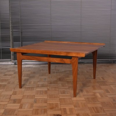 Finn Juhl Model 534 Solid Teak Coffee Table for France & Son