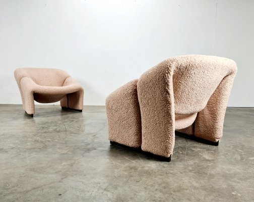 1st edition Groovy chairs by Pierre Paulin for Artifort, 1960s