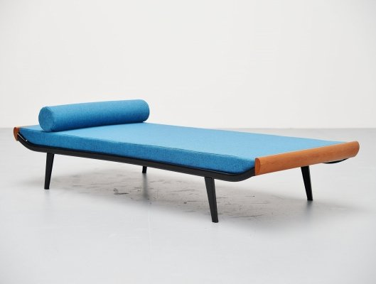 Dick Cordemeijer for Auping Cleopatra daybed with mattress, 1954