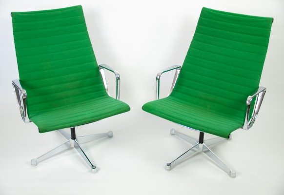 Charles & Ray Eames EA 116 lounge chair for Herman Miller, 1950s