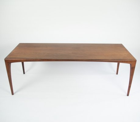 Palissander coffee table by Erling Torvits for Heltborg Mobler, 1960's