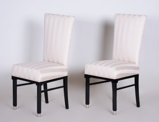 20th Century Pair of French Art Deco Chairs, 1920s