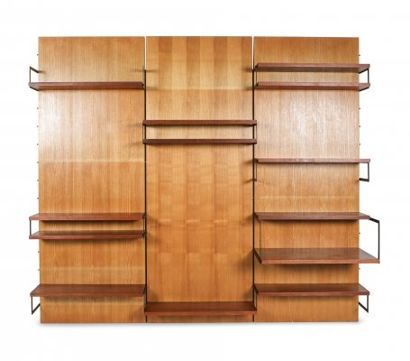 Cees Braakman for Pastoe 'Japanese Series' Wall Unit, the Netherlands 1950's