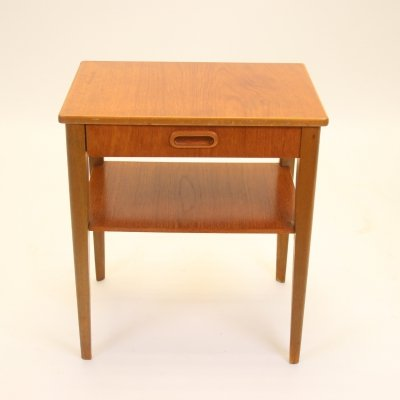 Vintage danish design bedside table, 1960s
