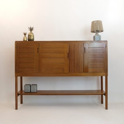 Large Week-end sideboard by Pierre Gautier Delaye, 1963