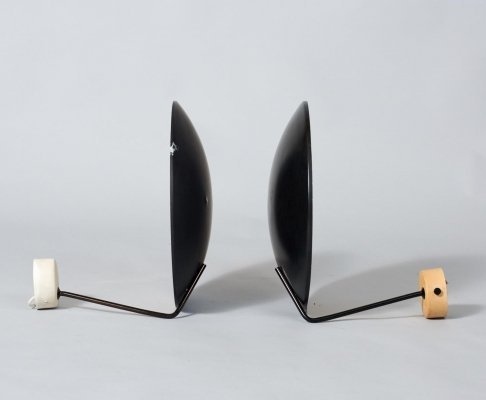 Pair of Model 232 wall lamps by Bruno Gatta for Stilnovo, 1960s