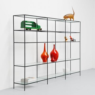 Poul Cadovius Abstracta shelving system, Denmark 1960