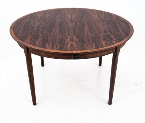 Rosewood Danish Dining Table, 1960s