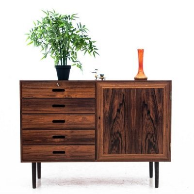Danish rosewood sideboard with drawers 1960s