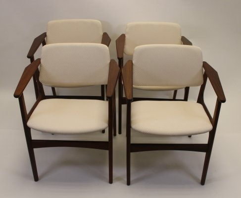 Set of 4 Arne Vodder dining room chairs, 1960s