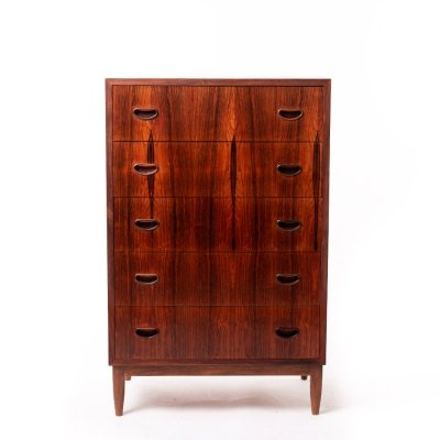 Vintage Danish design rosewood chest of drawers, 1960's