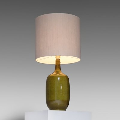 French Ceramic table lamp by Christian Ziegler