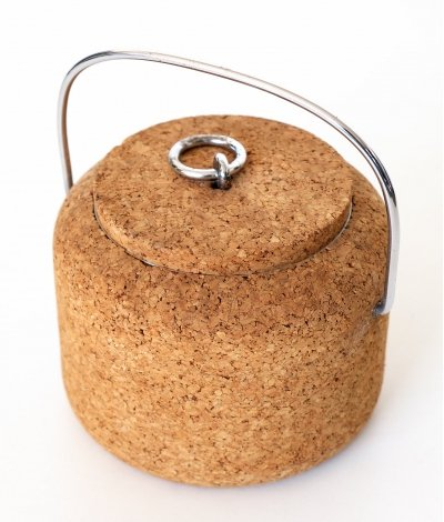 Cork ice Bucket by Signe Persson Melin for Boda Nova, Sweden