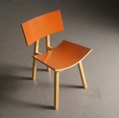 Prototype chair by Niall O'Flynn for 't Spectrum, 1990's