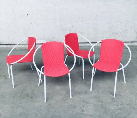 Vintage 1960's Design set of 4 Terras Chairs