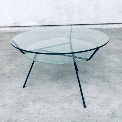 Vintage W.H. Gispen Coffee Table for Kembo, Holland 1950's