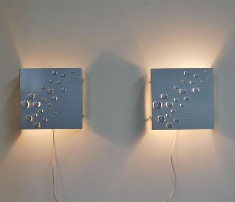 Raak Sterrenregen wall lamp, 1965