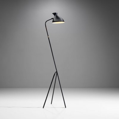 Floor Lamp by HW Armatur, Sweden 1950s
