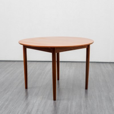 Mid Century teak dining table, Scandinavian design 1960s