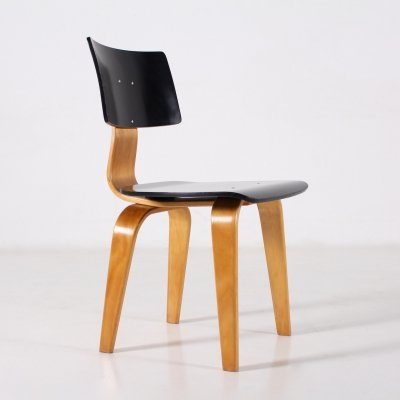 Birch office chair by Cees Braakman for Pastoe, 1950's
