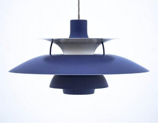 PH5 hanging lamp by Poul Henningsen for Louis Poulsen, 1980s
