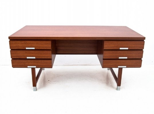 Teak desk by Kai Kristiansen, 1960s