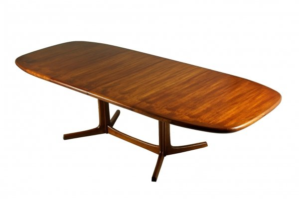 Extendable Teak Dining Table by Dyrlund, 1970s