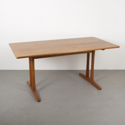 Borge Mogensen C18 Oak Shaker Dining Table Or Desk, Denmark 1950s