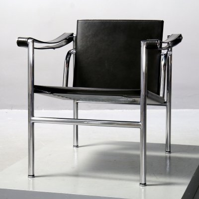 LC 1 Chair by Le Corbusier for Cassina, 1980s