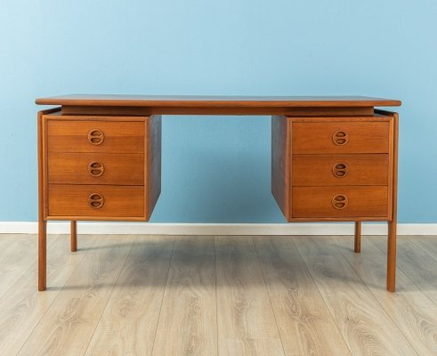 Vintage teak desk, Germany 1960s