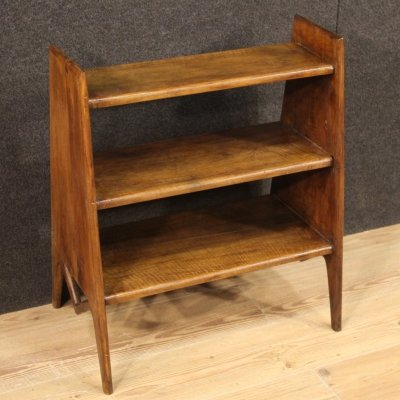 20th Century Italian Design Beech Wood Etagere / Bookshelf, 1970
