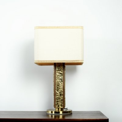 Bronze table lamp 'Margot' by Angelo Brotto for Esperia, 1970s